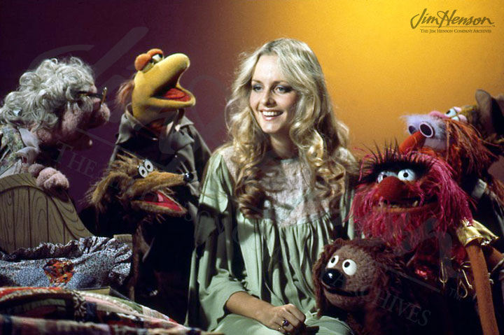 Twiggy and the Muppets