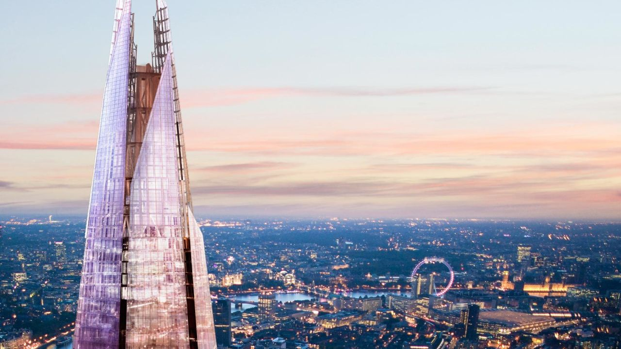 The Shard - london view