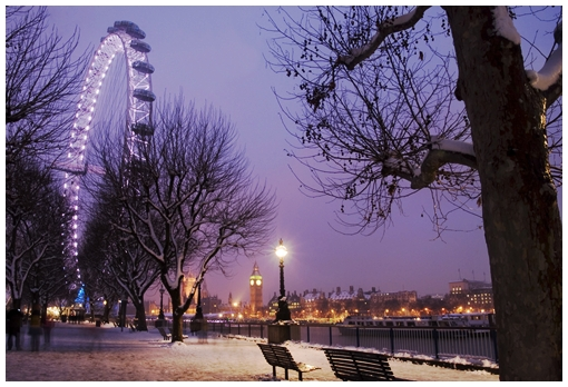 Winter Walk in London
