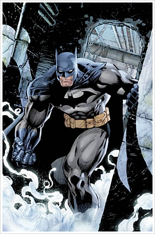 Batman created by Jim Lee