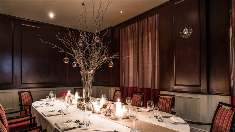 Sustainable Private Dining Package