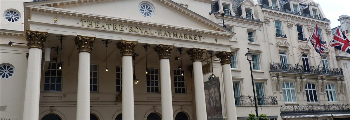 Haymarket Theatre recommended by The Cavendish Hotel as a top West End Theatre