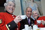 The Cavendish London support the Chelsea Pensioners with Afternoon Tea